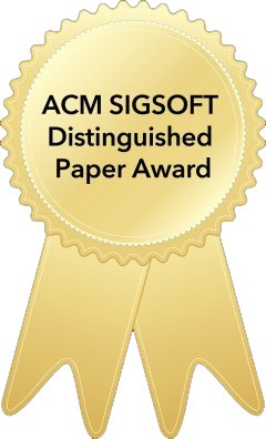 ACM SIGSOFT Distinguished Paper Award